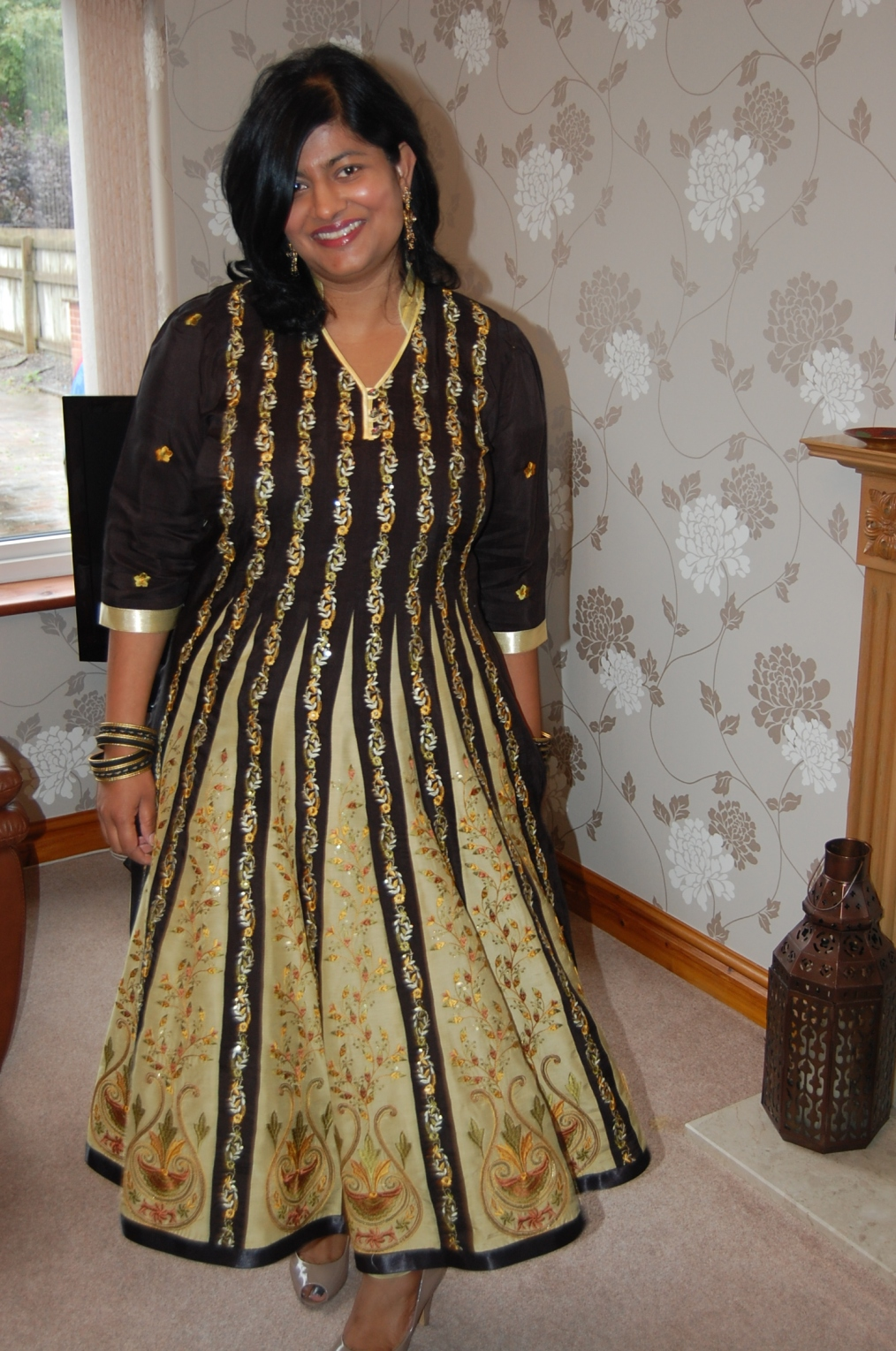 DIY churidar and anarkali kameez