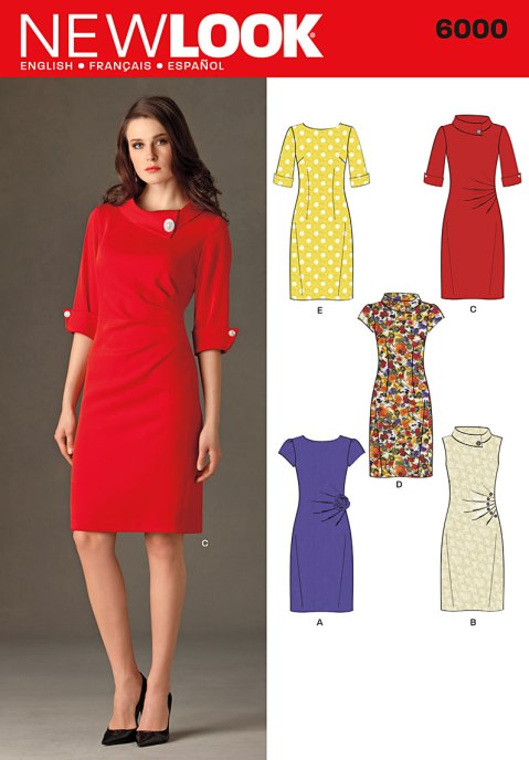 New Look 6000 pattern envelope