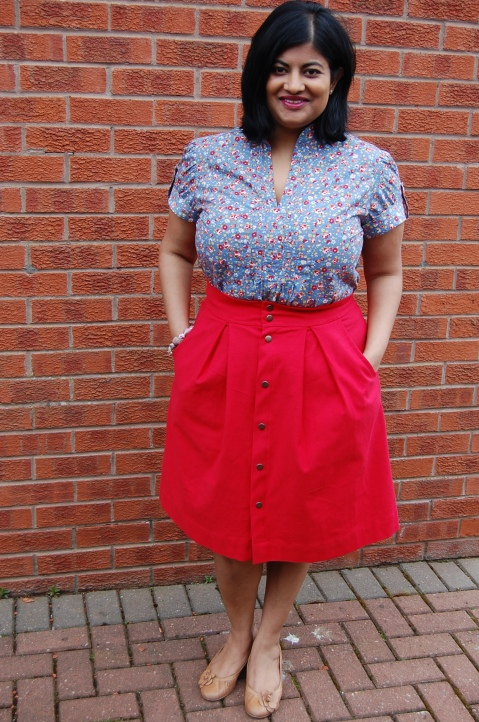 Kelly skirt with Simplicity 2365 top