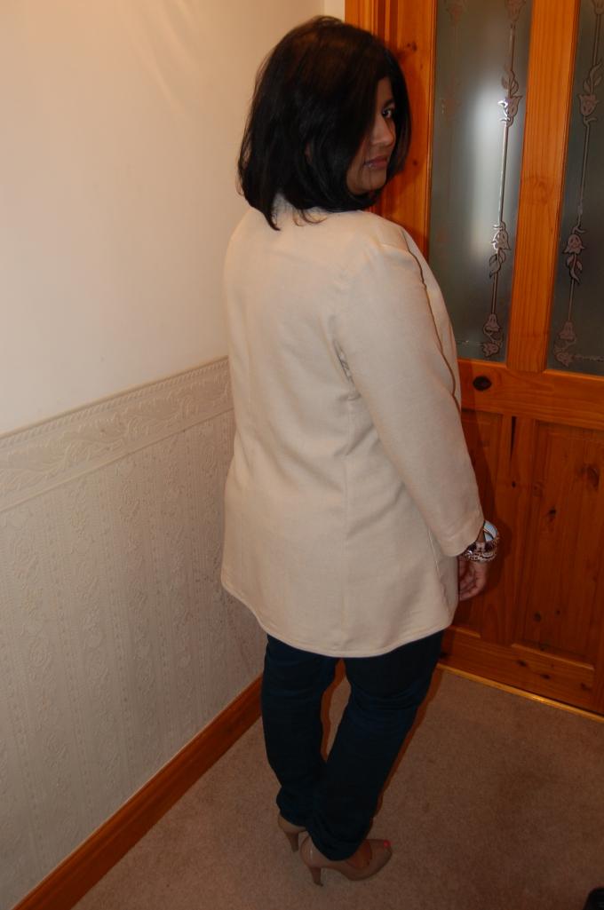 Simplicity 2250 linen mix jacket