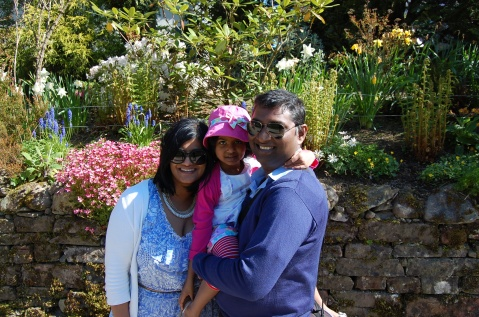 My family and I in the Lake District.