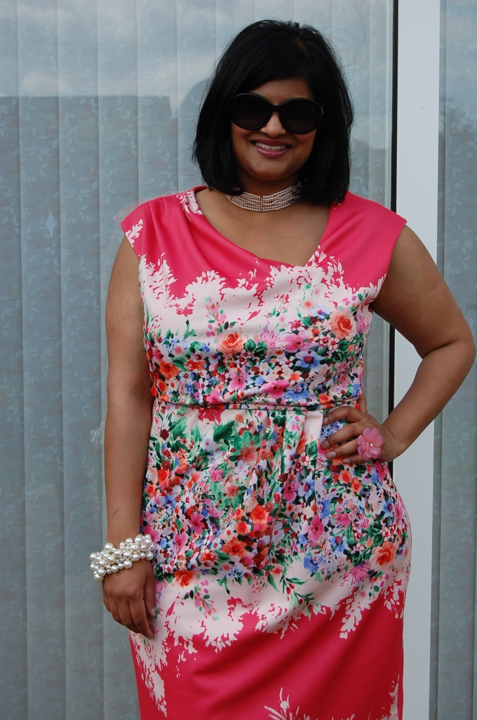 Butterick 5871: floral dress