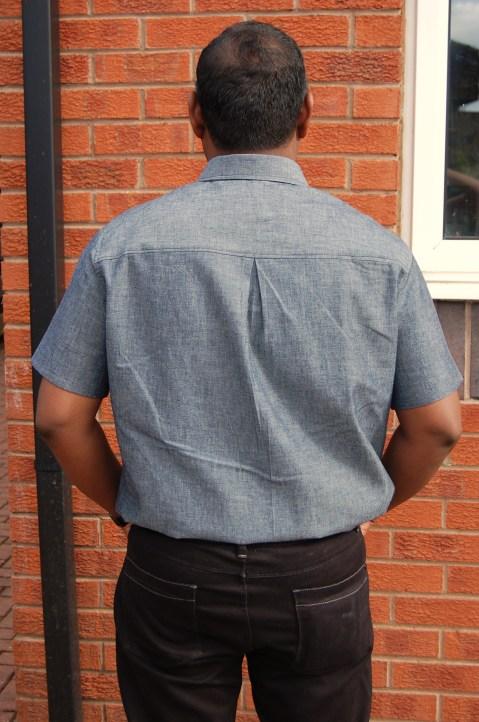 McCalls 6613 cotton demin shirt