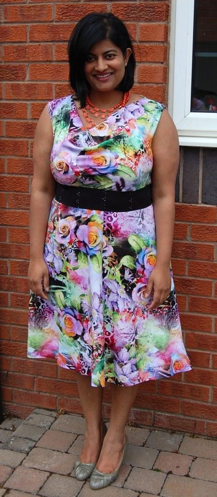 Vogue 8787 floral version