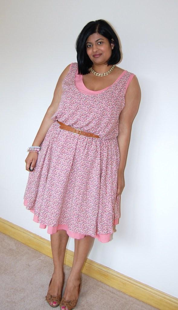 Burda Style 6/2013 dress 128