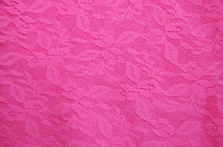 Pink lace - 20 euros for 3 metres.