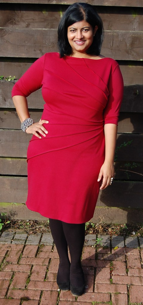 Butterick 5559: fitted ponte sheath dress