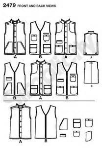 Simplicity 2479 line drawings