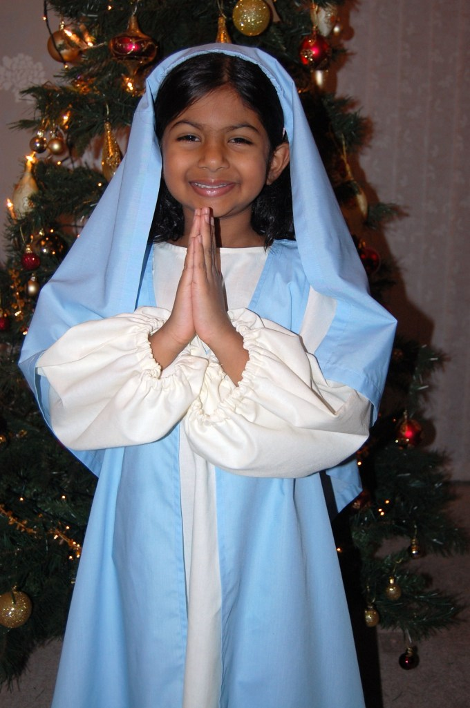 DIY nativity outfit