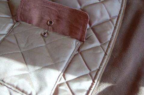 Simplicity 2479 pocket/ snap/ lining detail