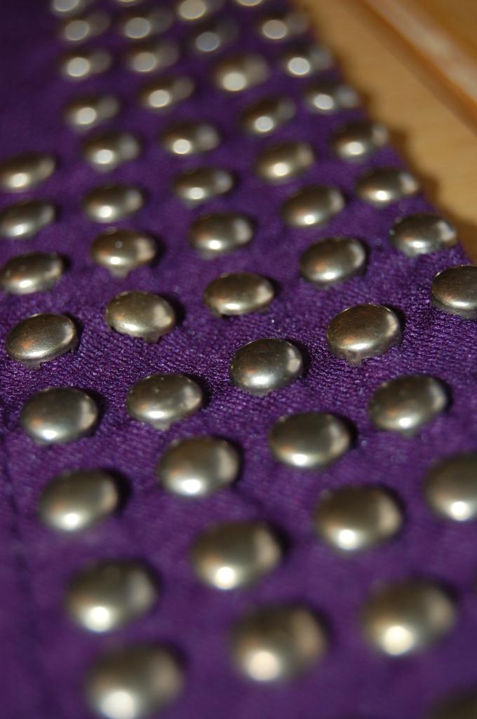 Close up of studs