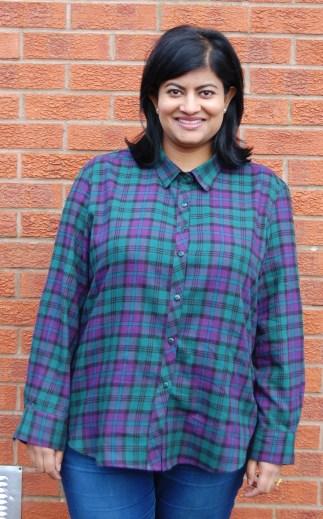 Plaid Flannel Archer Button Up Shirt