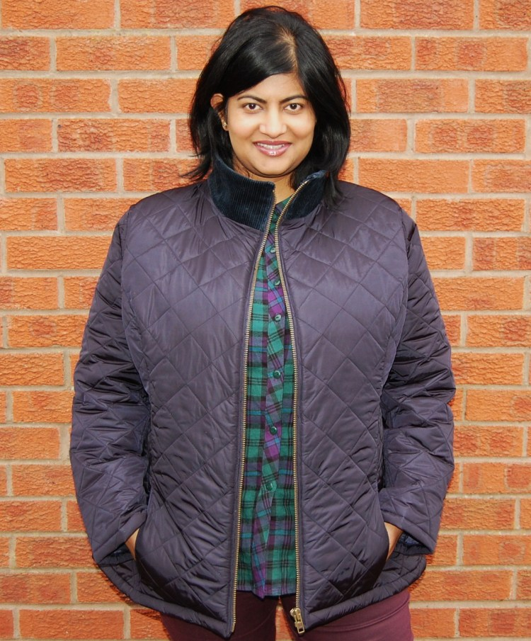 Butterick 5683: DIY quilted jacket