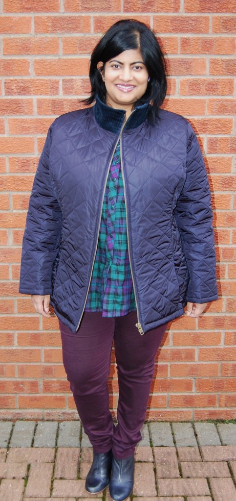 Butterick 5683 quilted jacket