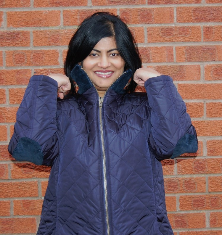 Butterick 5683: quilted jacket