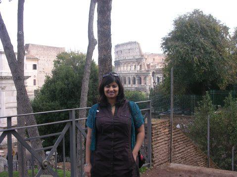 Me in Rome in 2006