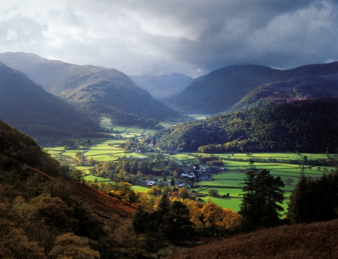 View of Borrowdale in the Lake District, close to where we live. Unfortunately I don't think the view we will end up with will be quite as spectacular as this...