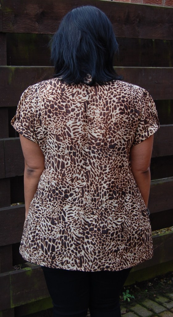 Simplicity 2365 animal print tunic