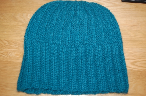 An  easy beanie by Andi Satterlund