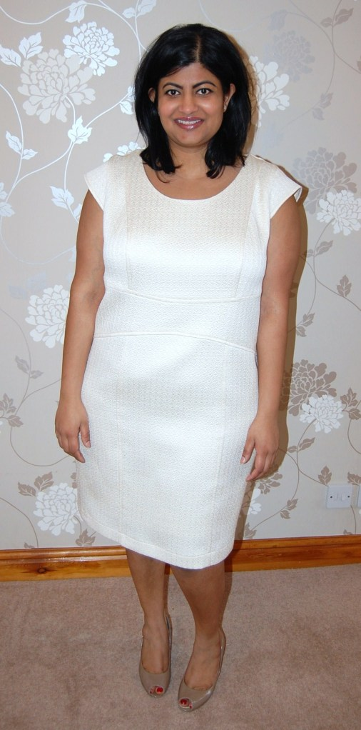 Vogue 8972 little white dress