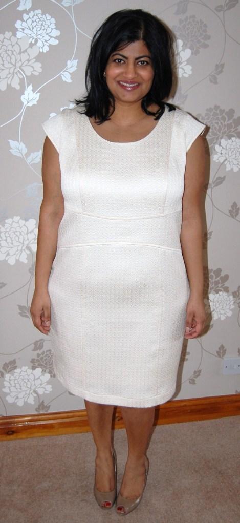 Vogue 8972 little white dress