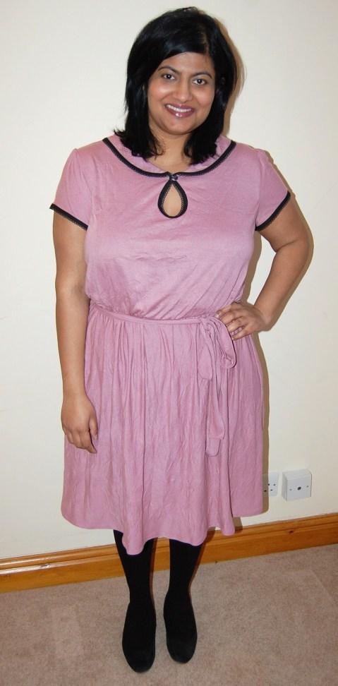 Miz Mozelle jersey dress