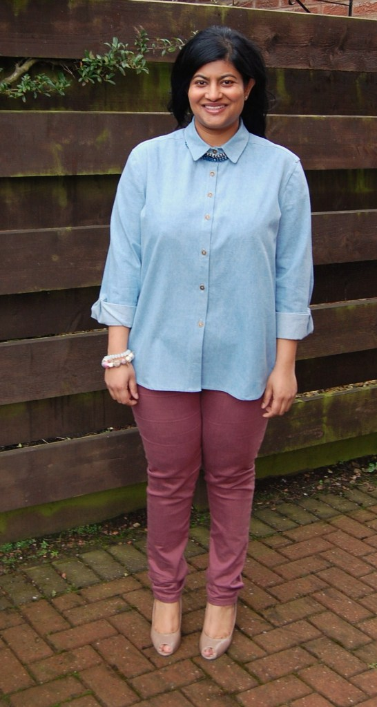 Grainline Archer Shirt in Denim