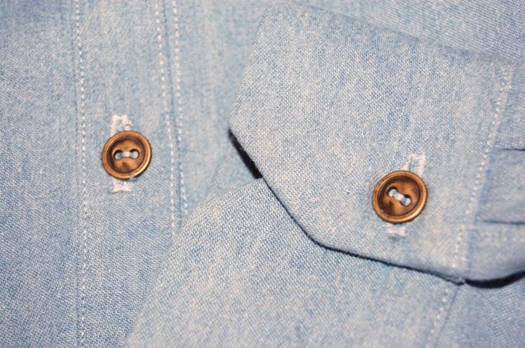 Grainline Archer Shirt in Denim