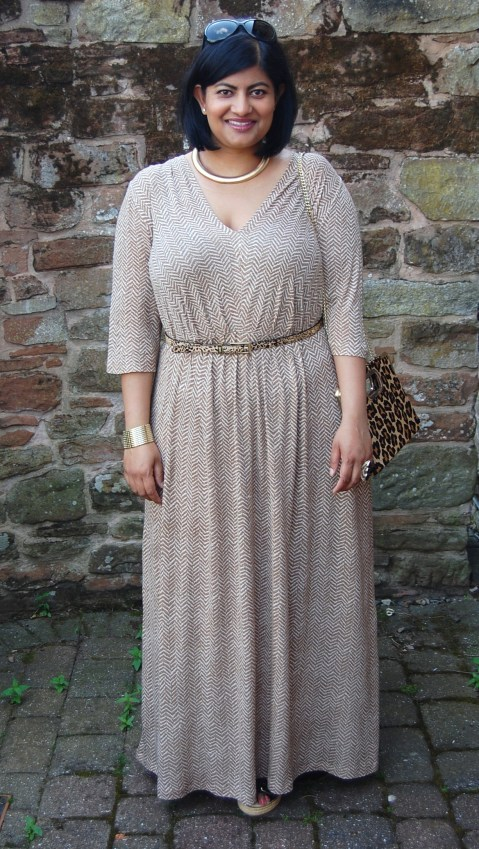 Vogue 8921: DIY jersey maxi dress
