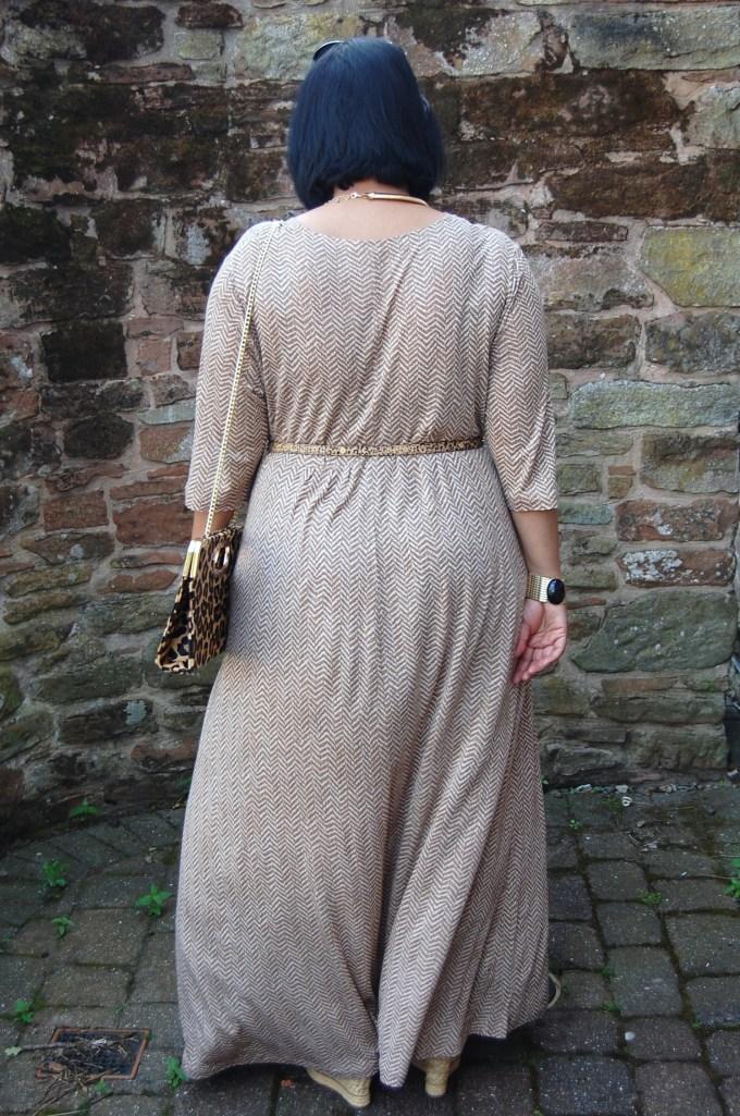 Vogue 8921: DIY jersey maxi dress