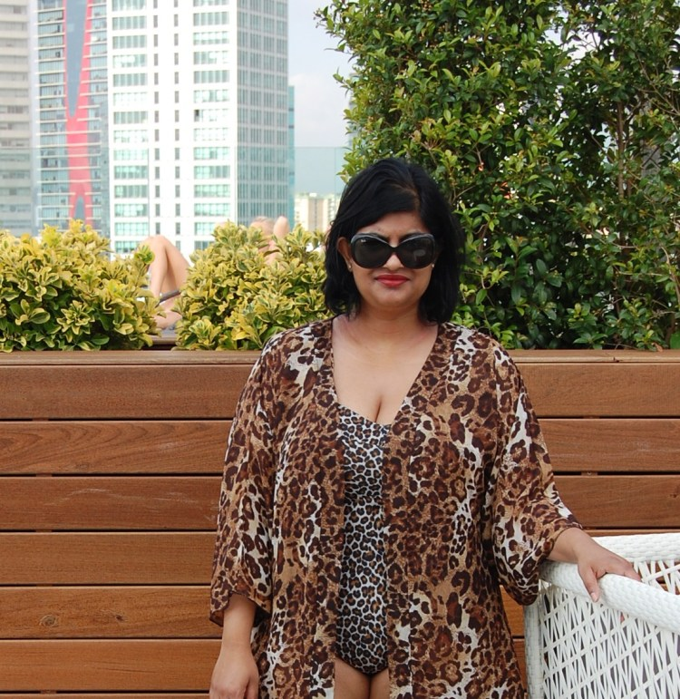 Ohhh Lulu Ginger Swimsuit and Simplicity 1896 Kimono