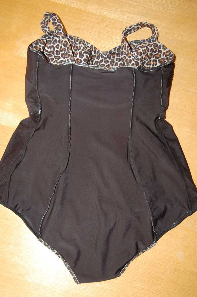 Ohhh Lulu Ginger Swimsuit - inside back lining