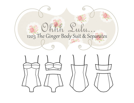 Ohhh Lulu Ginger Bodysuit and Separates