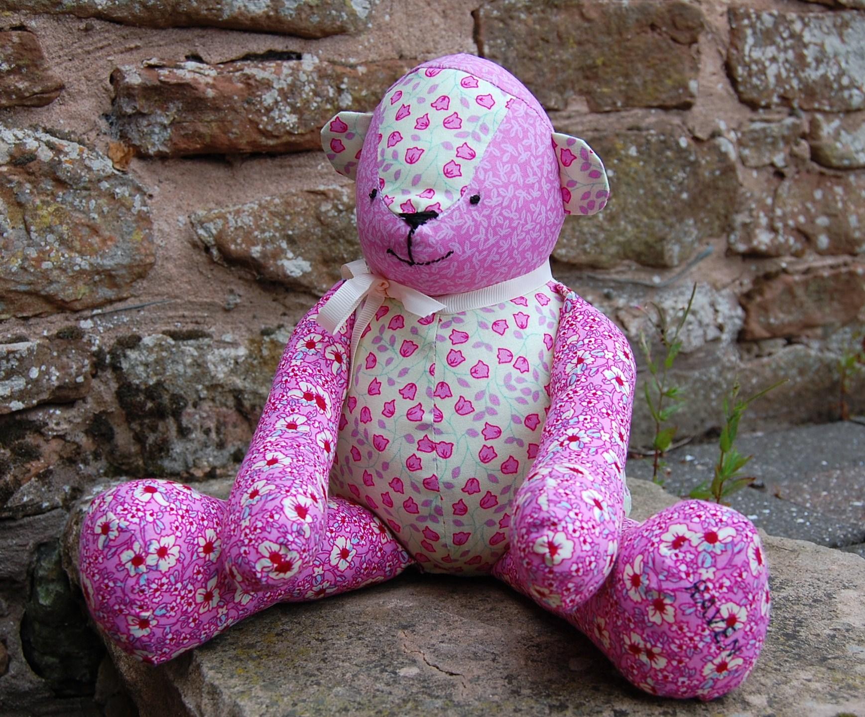 FREE McCalls Pattern: Patchwork Teddy Bear – sewmanju
