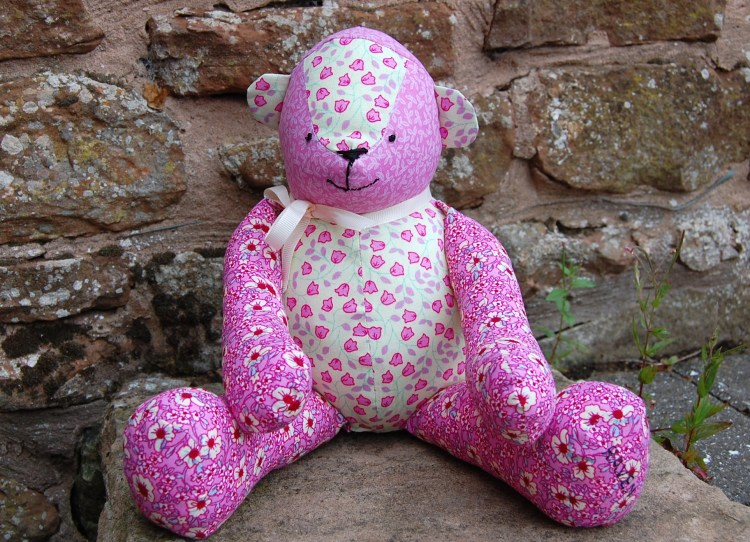 Free McCalls Patchwork Teddy Bear Pattern