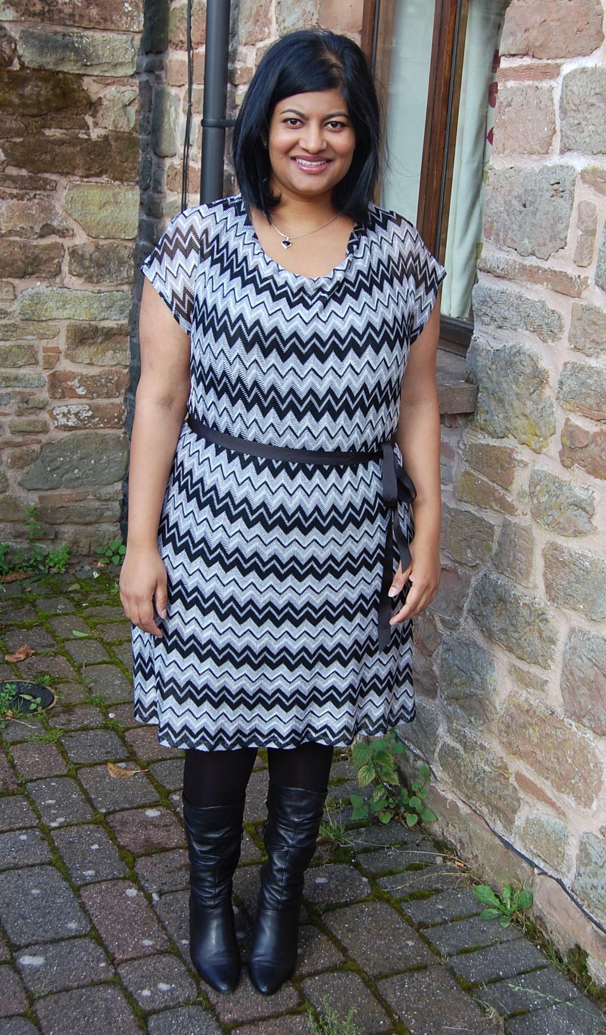 Vogue 1386 Diy Missoni Knit Dress White Tree Fabrics
