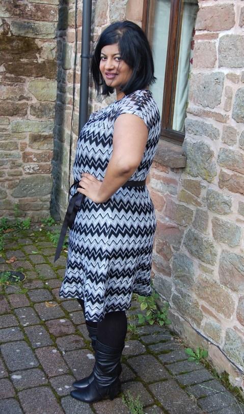 Vogue 1386 Missoni dress