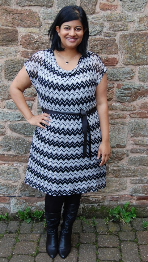 Vogue 1386 Missoni dress