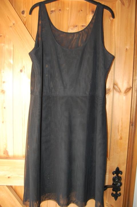 Vogue 1386 Missoni dress: power mesh slip