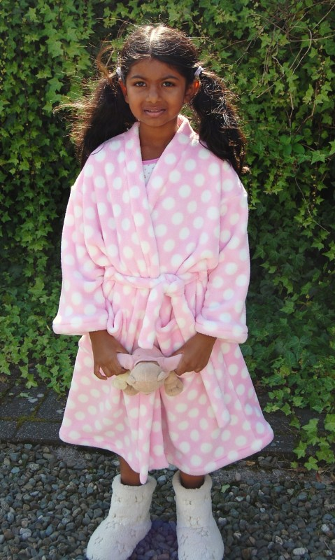 New Look 6847 Child's Dressing Gown