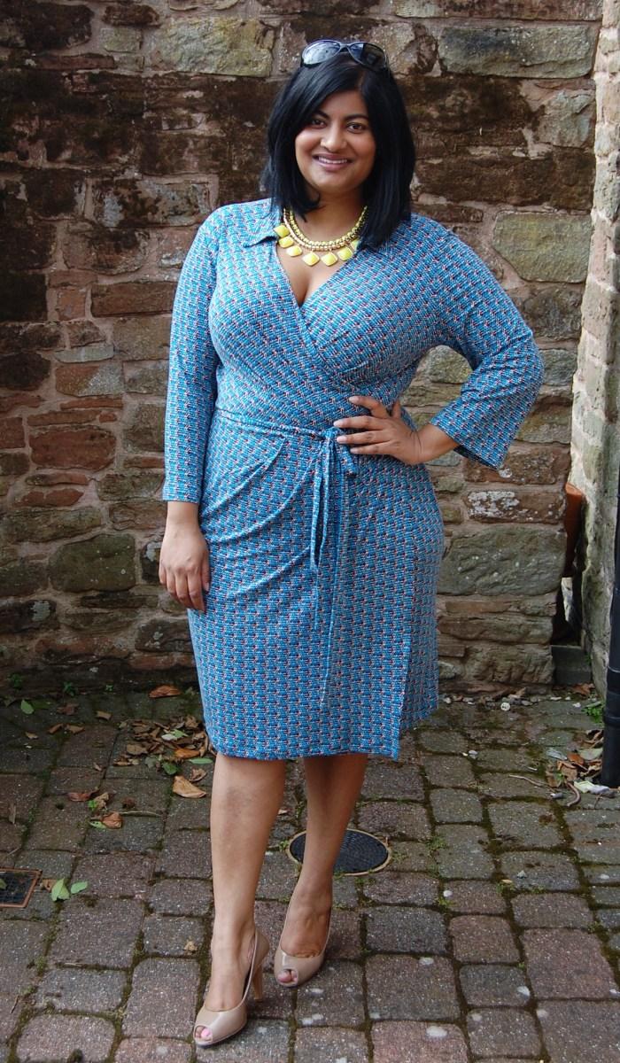 Vogue 8784: DIY Wrap Dress