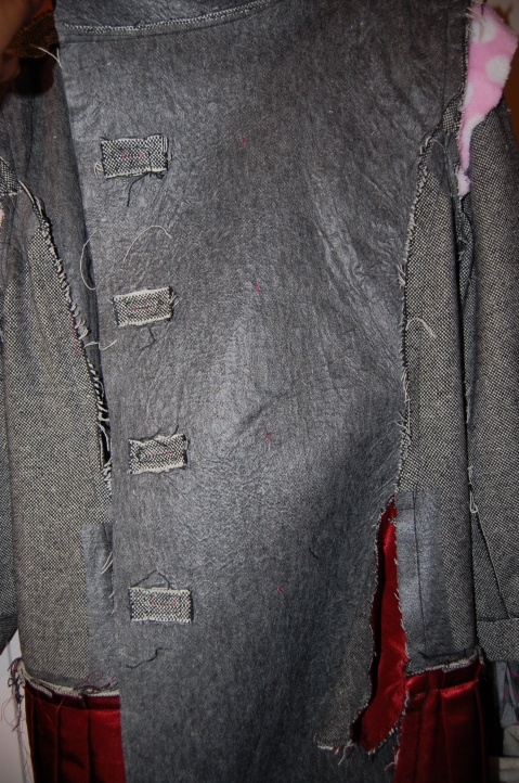 Quart Coat by Pauline Alice: inside coat