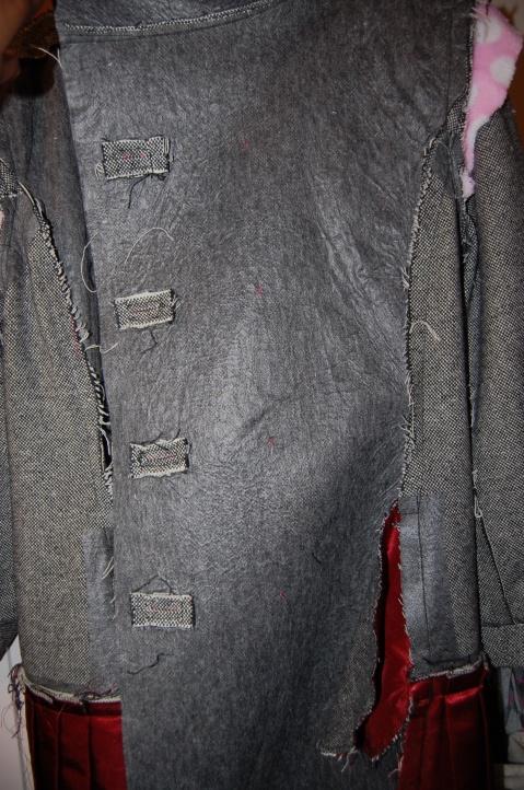Quart Coat by Pauline Alice: inside coat