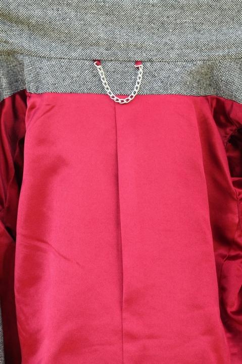 Quart Coat by Pauline Alice - hanging chain