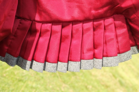 Quart Coat by Pauline Alice - lining detail