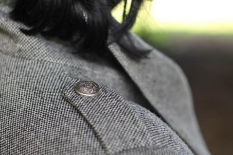 Quart Coat by Pauline Alice - epaulettes