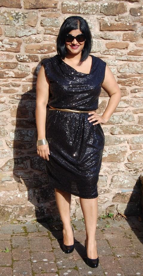 Butterick 5871 Sequin Dress
