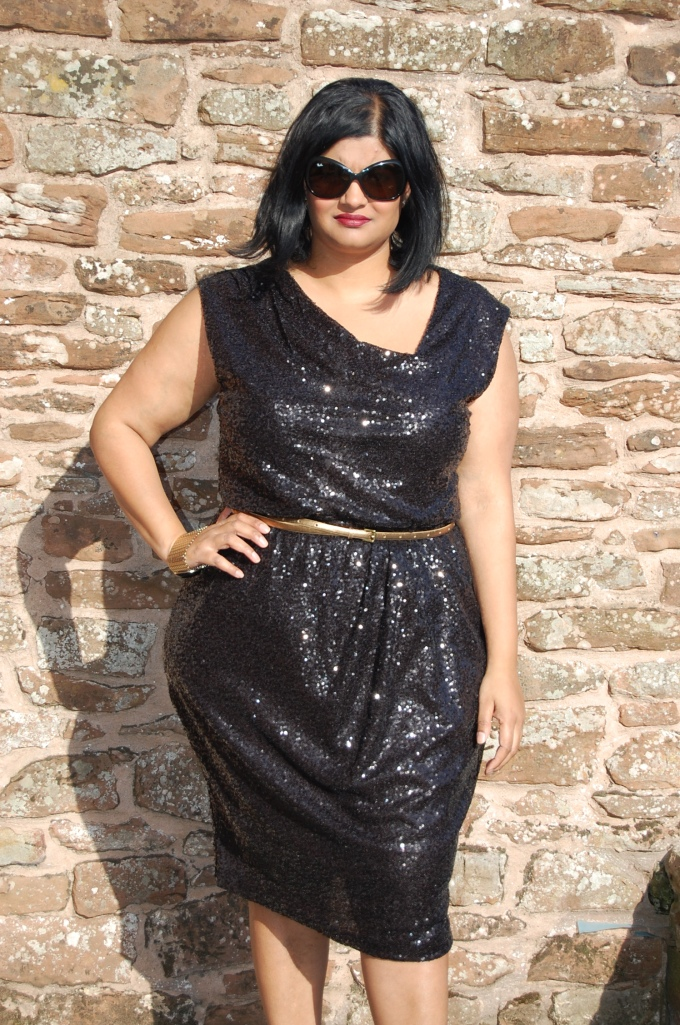 Butterick 5871 Sequin Dress