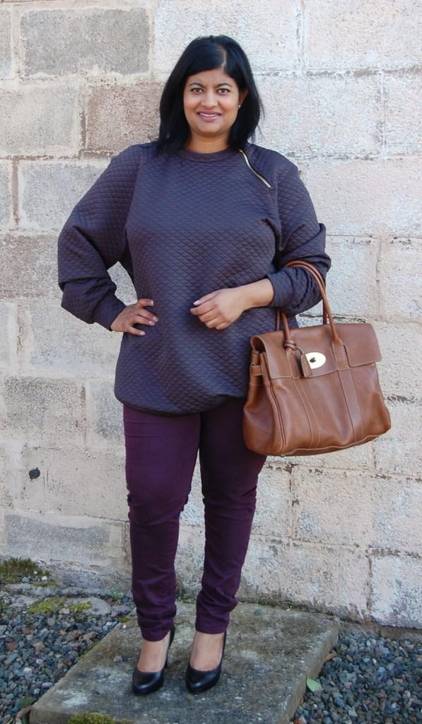 Burdastyle Zipper Sweatshirt 08/2014