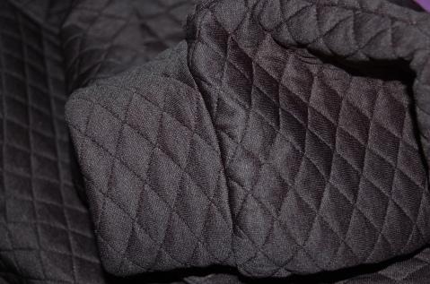 Burdastyle Zipper Sweatshirt 08/2014 - close up of cuffs